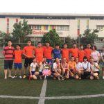 Sôi động giao hữu bóng đá giữa THM Land và tập đoàn SSG