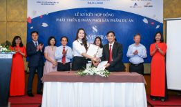 Lễ ký kết đại lý phân phối chính thức sản phẩm dự án Samsora