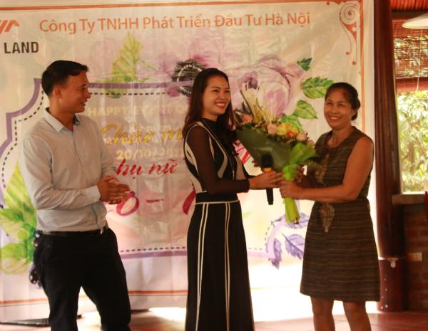 THM Land chào mừng ngày phụ nữ Việt Nam 20/10
