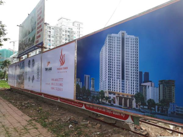 Tiến độ dự án Phoenix Tower Bắc Ninh ngày 31/11/2017
