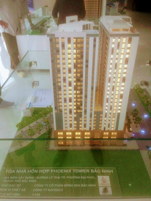 Tiến độ dự án Phoenix Tower Bắc Ninh tháng 3/2018