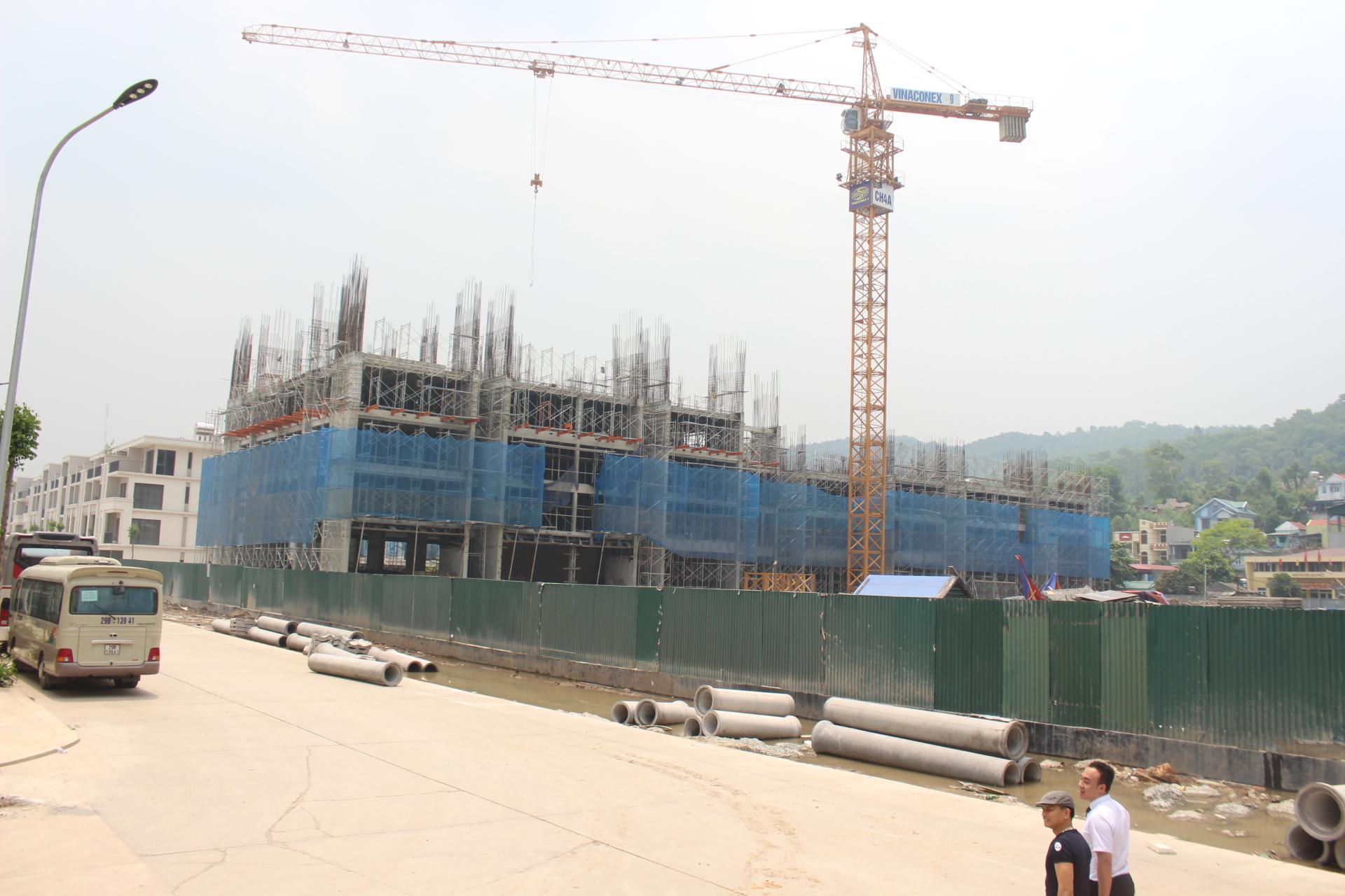 Tiến độ thi công dự án Green Bay Garden Hạ Long tháng 6/2018