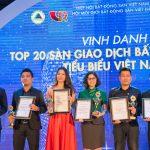 THM Land được vinh danh Top 20 sàn giao dịch bất động sản tiêu biểu Việt Nam 2018