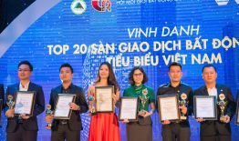 THM Land vinh dự nhận giải thưởng Top 20 sàn giao dịch BĐS tiêu biểu Việt Nam