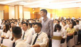 THM Land tham gia lễ training dự án Anland Premium Nam Cường