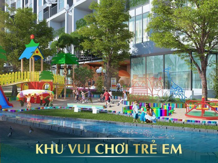 Khu vui chơi trẻ em E2 Yên Hòa