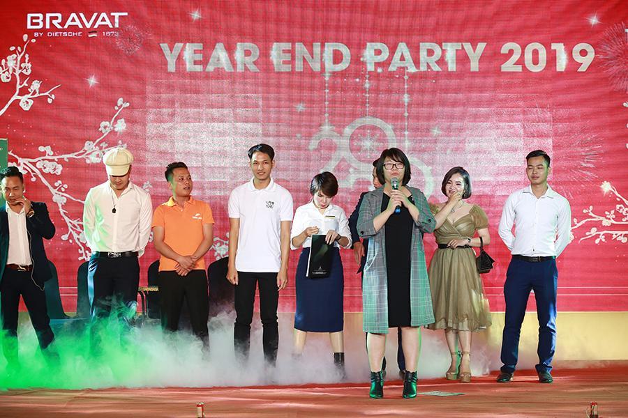 Tiết mục kịch của chi nhánh Hạ Long đã xuất sắc giành giải nhất văn nghệ
