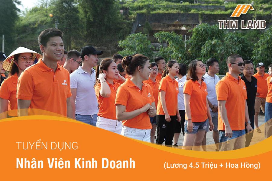 THM Land tuyển dụng Nhân viên kinh doanh dự án đất nền Hà Nội, Hải Phòng, Quảng Ninh