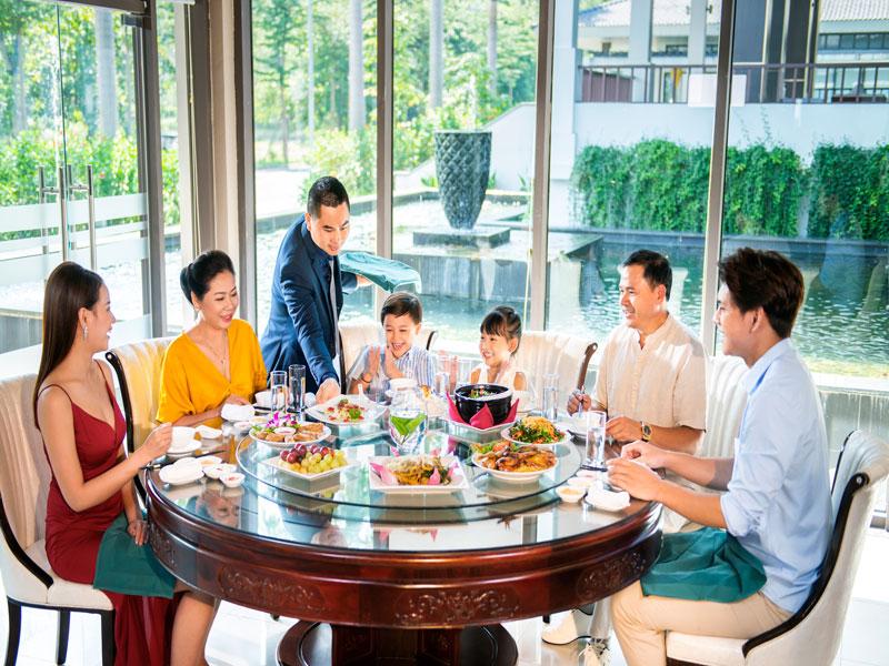 Dự án biệt thự sinh thái Xanh Villas - Nhà hàng Lam sang trọng