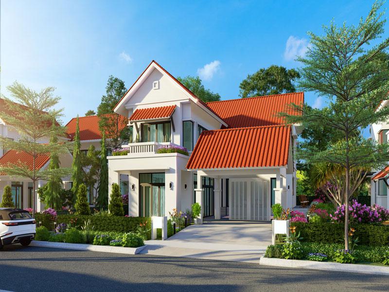 Dự án khu đô thị Xanh Villas - Biệt thự Elegant