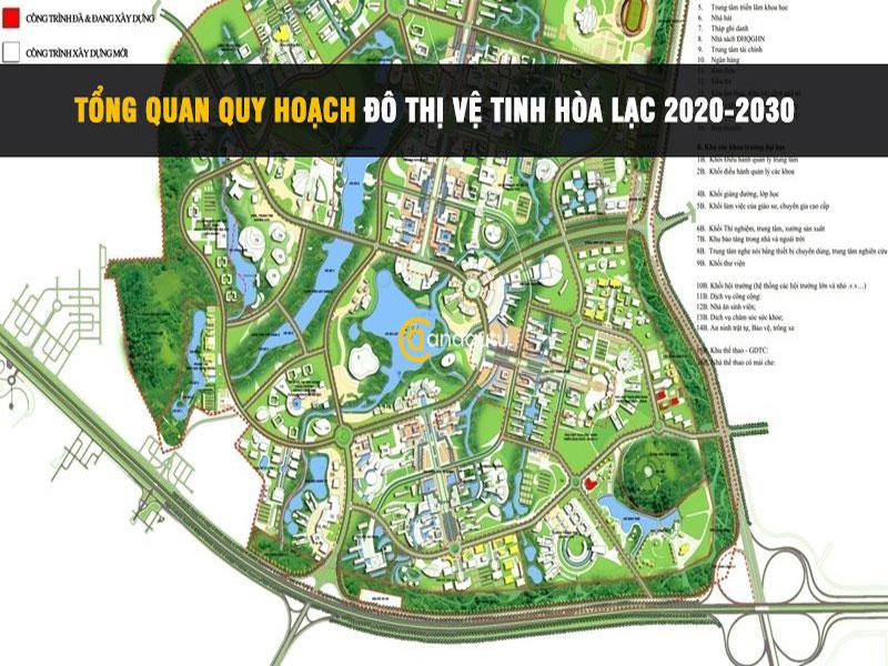 Cuối tháng 6 vừa qua, Chính phủ đã phê duyệt quy hoạch chung đô thị vệ tinh Hòa Lạc với diện tích 17.274ha, dân số khoảng 600.000 người vào năm 2030.