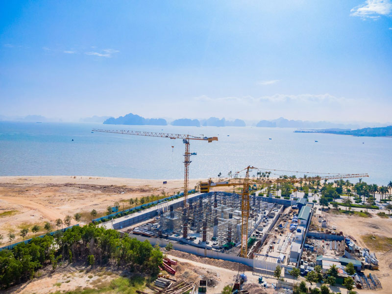Dự án Alacarte Hạ Long Bay - Tiến độ thi công tháng 12/2020