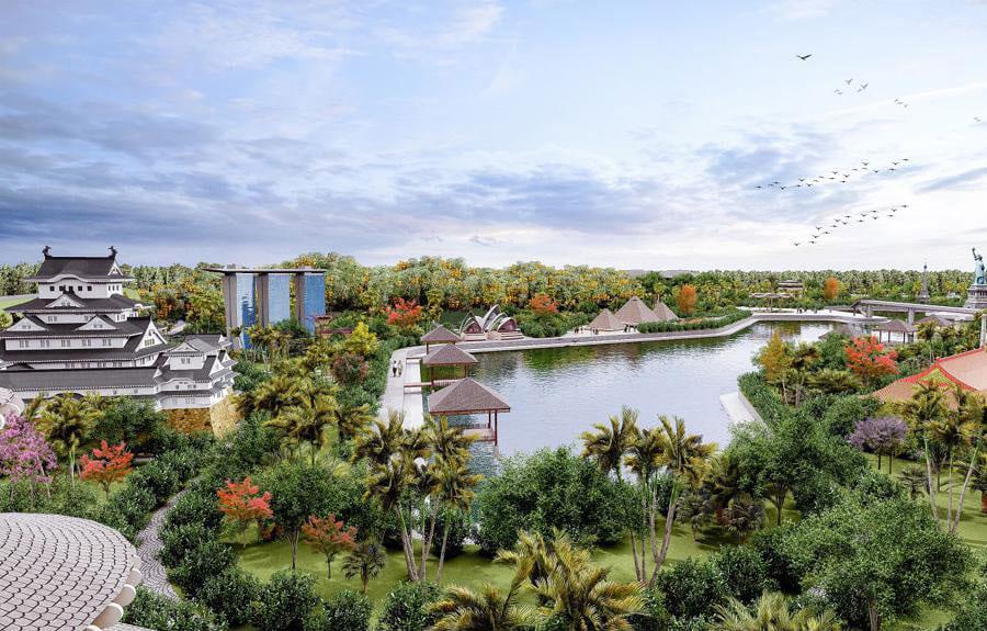 Dự án Sunshine Heritage Resort – Công viên trung tâm
