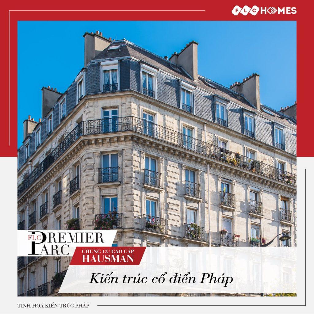 Dự án chung cư FLC Premier Parc - Thiết kế Pháp cổ