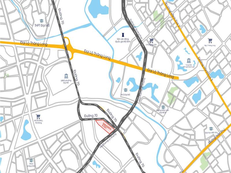 Chung cư FLC Premier Parc – Vị trí dự án