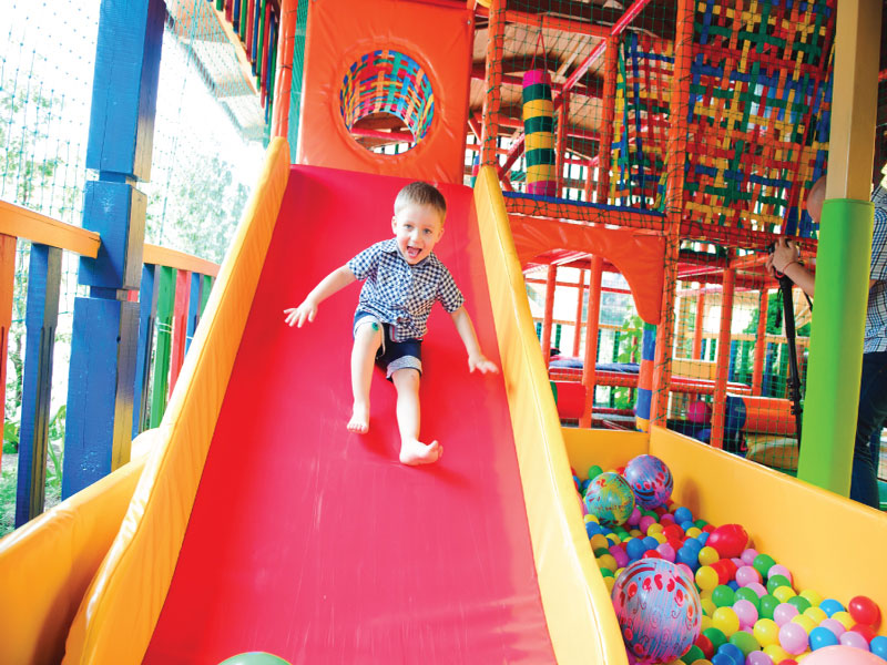 Chung cư FLC Premier Parc - Tiện ích khu vui chơi ngoài trời