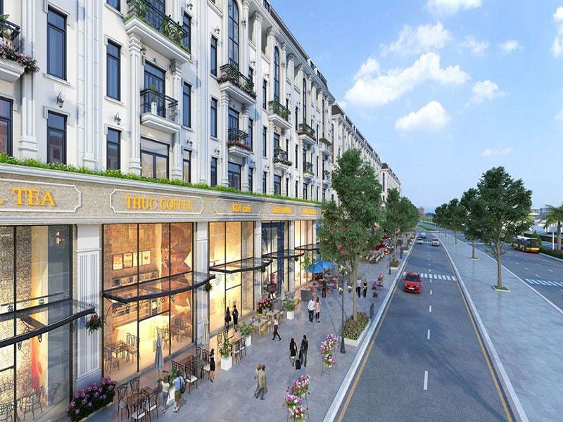 Chung cư FLC Premier Parc - Dãy phố thương mại