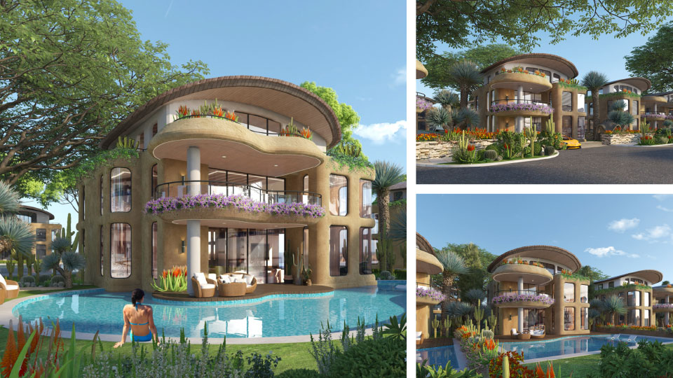 Dự án Sunshine Heritage Resort – Tiện ích bể bơi