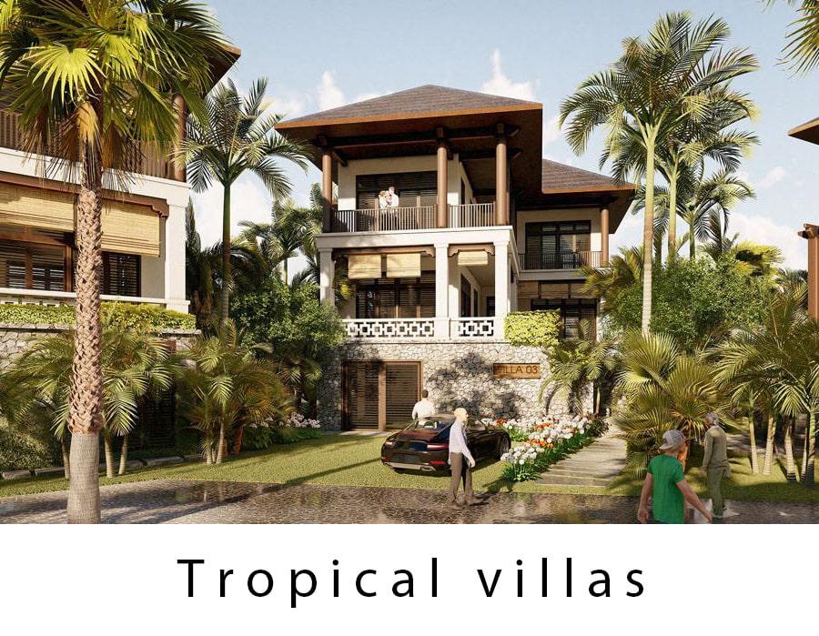Dự án Sunshine Heritage Resort – Biệt thự Tropical Villas