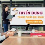 THM Land Hạ Long tuyển dụng vị trí Trưởng phòng Kinh doanh