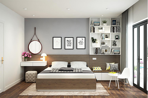 Chung cư Ariyana Lakeside Văn Quán - Thiết kế phòng ngủ