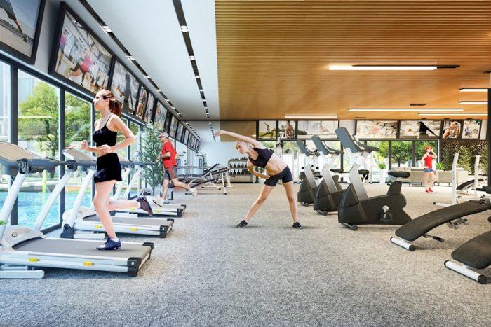 Chung cư Ariyana Lakeside Văn Quán - Phòng tập Gym, Yoga hiện đại