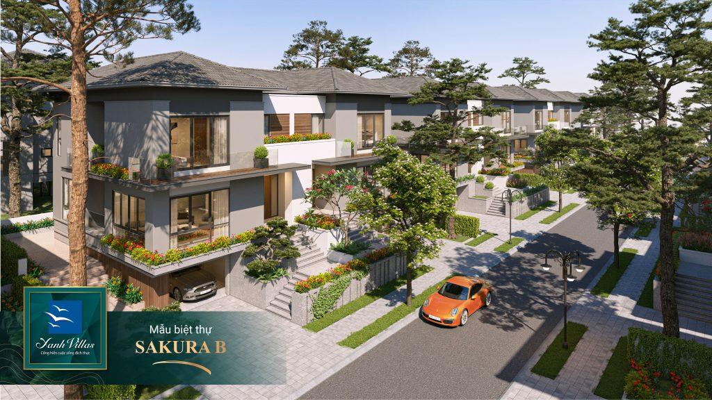 Xanh Villas - Mẫu biệt thự phong cách Nhật Bản phủ đầy không gian xanh