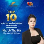 THM Land đạt liên tiếp 3 giải thưởng của Hội môi giới BĐS Việt Nam