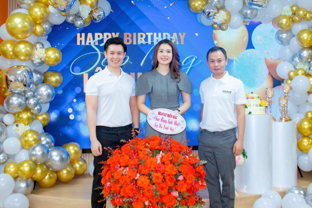 Bravat Miền Bắc chúc mừng sinh nhật Sếp Hà