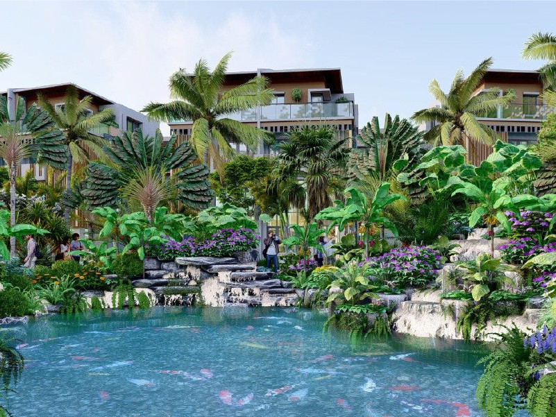"Horizon Bay - Khu vườn bỏ túi ""Pocket garden"""
